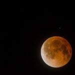 Así se vio en Amatzcalli el eclipse de la luna Sangrienta