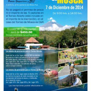 Torneo Abierto & Mosca Amatzcalli 2014