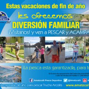 Ven a pescar en estas vacaciones de fin de año La mejor temporada para pescar Trucha Arcoíris